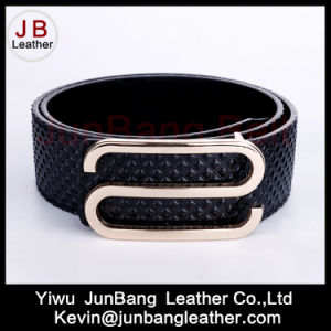 Latest Fashion Fall Season Women Embossing PU Leather Belt