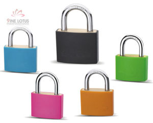 High Quality Color Coated Brass Padlock pictures & photos