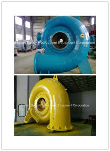 Francis Hydro (Water) Turbine Generator Medium Head 600~8000kw / Hydropower Turbine pictures & photos