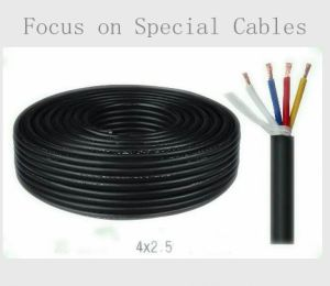 2.5mm 2core 4core Flexible Copper Wire Speaker Cable pictures & photos