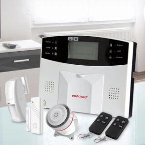 Hom Security Alarm Systems APP GSM Wireless Internet SMS Home Intruder Burglar Outdoor Siren Alarm System Kit pictures & photos