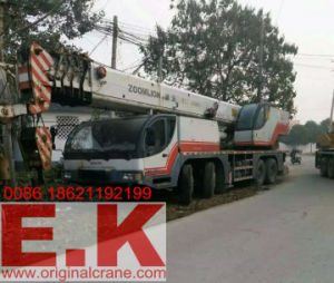 2007 Used Zoomlion 70ton Mobile Hydraulic Truck Crane (QY70K) pictures & photos