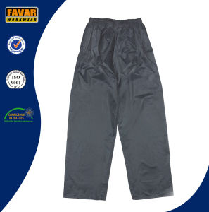 Navy 2-Piece Waterproof Rain Suit pictures & photos