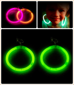 Glow Earrings Glow Ornaments Children Earrings (EHD15160) pictures & photos