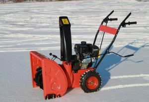 Cheap Snow Thrower with Battery Start pictures & photos