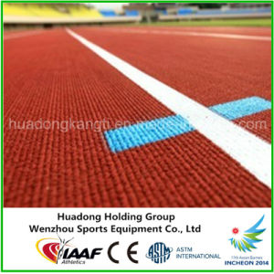 Slip Resistant Prefabricated Rubber Running Track pictures & photos