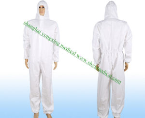 Dispsoable Surgical/Medical/Hospital/Dental/Food Polyethylene/Poly/PE/PP+PE/PP/SMS/Overall/Polypropylene Protective Gown, Type4 Coverall/Overall