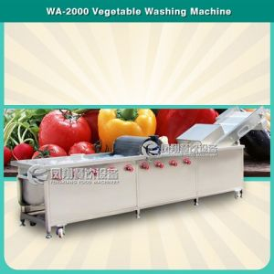 Wa-2000 CE Approved Multifunction Vegetable and Fruit Washing Machine pictures & photos