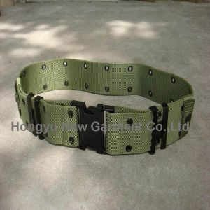 Military Duty Waist Army Nylon Webbing Belt (HY-WB001) pictures & photos