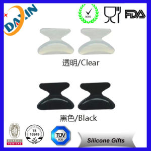 2015 New Eyeglasses Products 19mm Silicone Half Moon Nose Pads pictures & photos