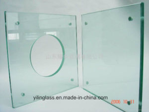 Tempered Glass Panel for Toilet Basin pictures & photos