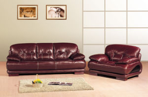 China Living Room Sofa Set Home Furniture Leather Sofa