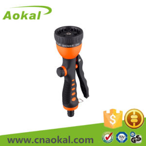 Top Quality 8-Pattern Plastic High Pressure Water Spray Gun pictures & photos