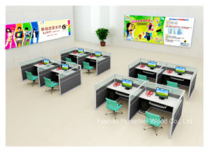 Office Furniture Call Center Workstation for Staff Working Desk (HF-YZV620) pictures & photos