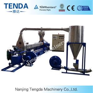 Tsh-75 PC/PE Tenda Masterbatch Granulating Plastic Extruder Machine pictures & photos