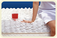 Fire Retardant Memory Foam Mattress Topper with 8mm Holes pictures & photos