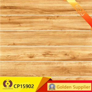 Unique Building Material Wooden Grain Ceramic Floor Tile (CP15904) pictures & photos