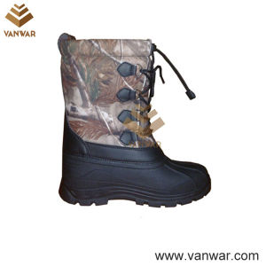 Fashionable Stiched Snow Boots with Warm Lining (WSB035) pictures & photos