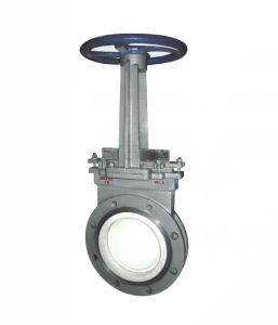 Manual Ceramic Slurry Knife Gate Valve (GPZ43TC) pictures & photos