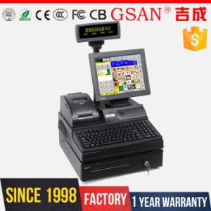 Point of Sale Business Salon POS Systemcash Register Supermarket Cash Register Stand for Sale pictures & photos
