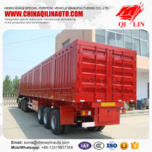 2017 New Style Warehouse Semi Trailer with Side Wall Detachable pictures & photos