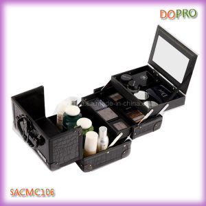 Cheap Cute Beauty Makeup Box with Mirror (SACMC106)