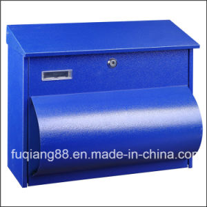 Fq-110 Light-Capacity Cold-Rolled Steel Mailbox with Newspaper Holder pictures & photos