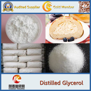 Emulsifier Glycerol Monostearate (Distilled Monoglyceride) Dmg (DMG-CF01 95%GMS content) pictures & photos