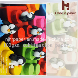 100GSM High Speed Fast Dry Sublimation Heat Transfe Paper for Fabric pictures & photos
