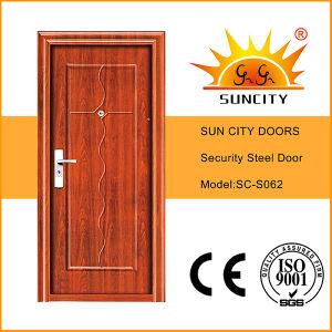 Latest Main Steel Door Design for Exterior Sc-S062 pictures & photos