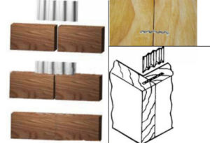 Five Corrugated Fasteners for Furnituring pictures & photos