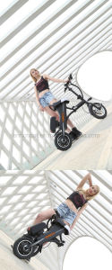 China Enrich 2016 New Products Portable Foldable E- Scooter, Girl′s Mini Electric Scooter pictures & photos