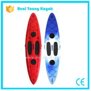 Sup Plastic Cheap Kayak Paddle Boards pictures & photos