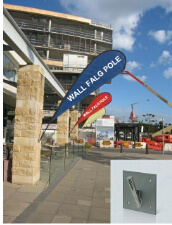 Outdoor Wall Flag Pole (DW-WFP) pictures & photos