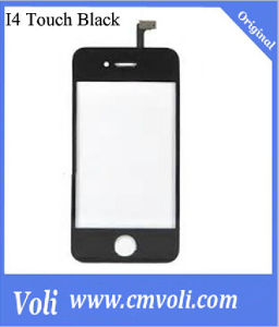 Mobile Phone Touch Screen for iPhone 4 Black pictures & photos