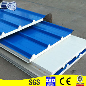 Cheap Price EPS Corrugated Steel Sandwich Panel pictures & photos