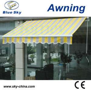 Polyester Fabric Retractable Window Awning (B2100) pictures & photos