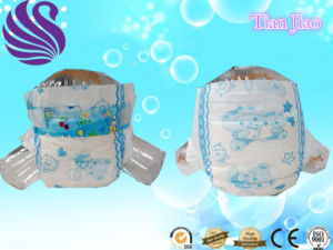 Disposable Lovely Baby Diapers with High Absorbent pictures & photos