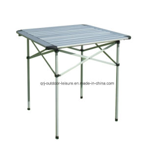 Aluminum Square Folding Table (with round edges)