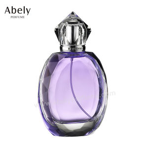 2017 Hot Selling 100ml Heart Shape High Quality Glass Perfume Bottle pictures & photos