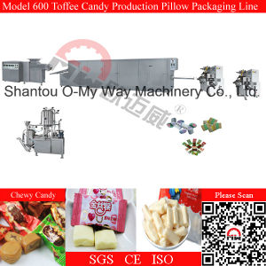 Automatic Cutting Pillow Packing Toffee Candy Making Machine pictures & photos