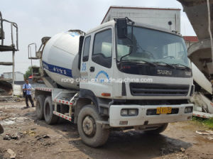 Used Isuzu Mixer Truck, Isuzu Concrete Truck Mixer 9cbm pictures & photos