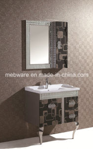 India Single Sink Stainless Steel Bathroom Cabinet pictures & photos
