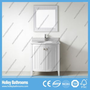 Clean Cut Classic Solid Wood Arc Sanitary Ware with Side Cabinet (BV209W) pictures & photos