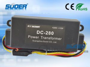 Suoer Power Converter 80W Car Power Converter DC 24V to 12V (DC-280) pictures & photos