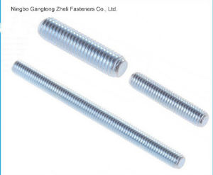 (DIN975/DIN976) Zinc Plated Thread Rod pictures & photos