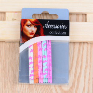 Lady Fashion Colorful Painted Metal Hair Ornament Bob Pins (JE1007) pictures & photos