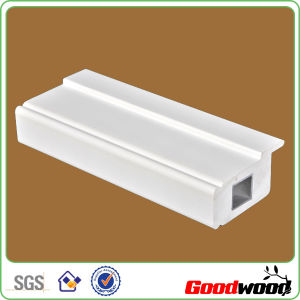 Extruded PVC Shutter Components Profiles Custom Window Shutter