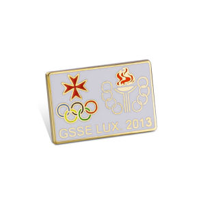 Irregular Promotion Lapel Pin of Gold Plated Personalized Gifts (GZHY-CY-007) pictures & photos