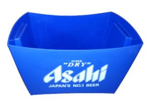 Factory 6 Bottle Series Blue Plastic Ice Bucket pictures & photos